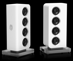 Baforce petite loudspeaker in white