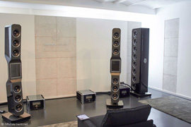 Hifistatement German Loudspeakers auditioning room