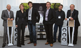 Goebel high end loudspeaker manufacturers crew